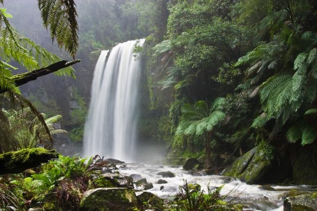 Hopetoun_falls_from Wikipedia
